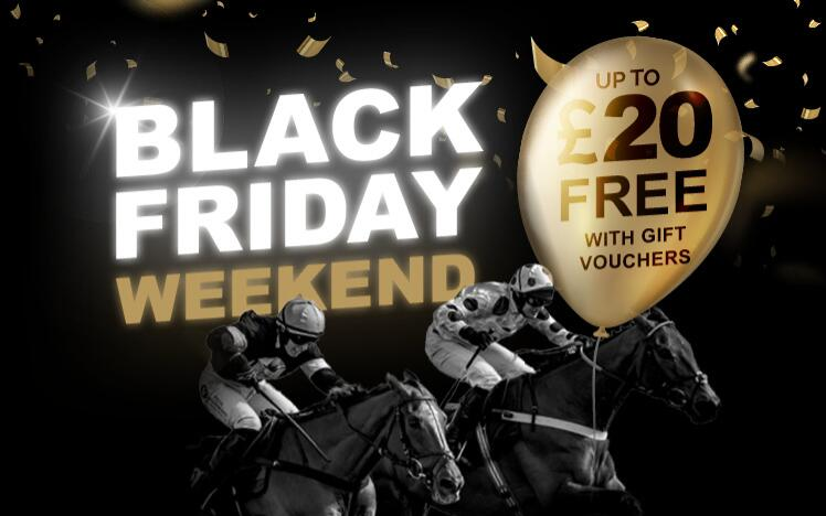 Treat someone with a black friday gift voucher to enjoy live horse racing at Chepstow Racecourse. A unique Christmas present