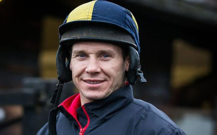 A photo of Champion Jockey Richard Johnson