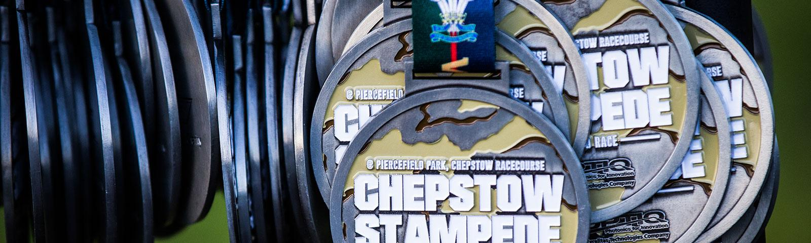 Chepstow Stampede Competitor Medals.