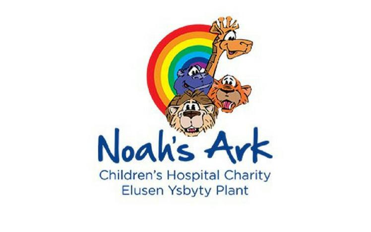The logo for the Noah's Ark Childrens Charity