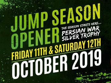 A promotional image for the Jump Season opening weekend Oktoberfest celebrations at Chepstow Racecourse on 11th October 2019
