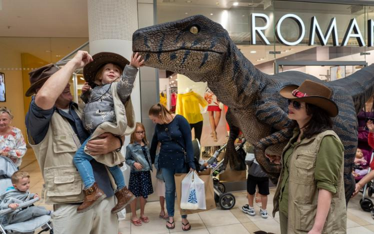 Dinosaurs come to Chepstow