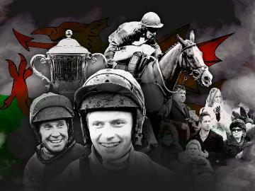 A promotional image for theWelsh Grand National at Chepstow Racecourse on 27th December 2019.