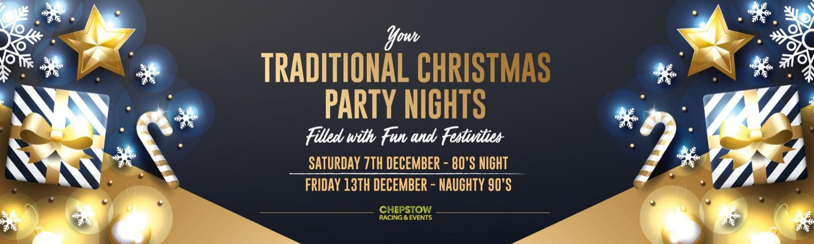 Christmas Party 2019 Logo.Christmas Parties 2019 Monmouthshire Chepstow Racecourse