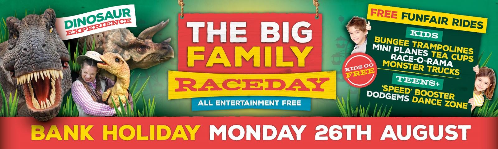 Family Fun Day, August Bank Holiday, Racing, Chepstow